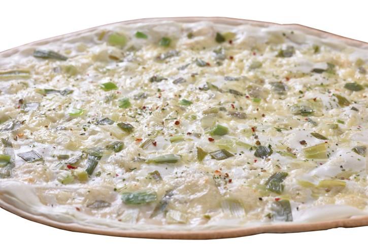 Flammkuchen Käse Lauch oval 28x38 cm, 360g, 10 St.