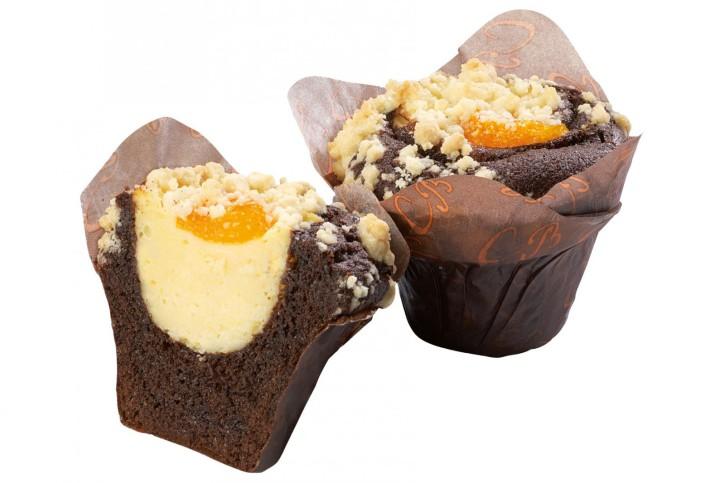 XXL-Cheesecake Chocolate-Muffin 135g, 24 Stück