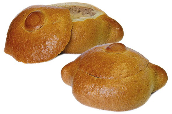 Brottopf mit Deckel ca. 270 g, 12 Stück