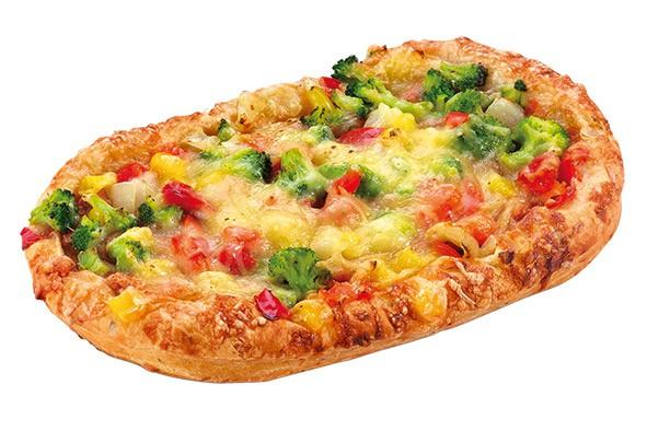 Pizza vegetarisch 200g, 24 Stück