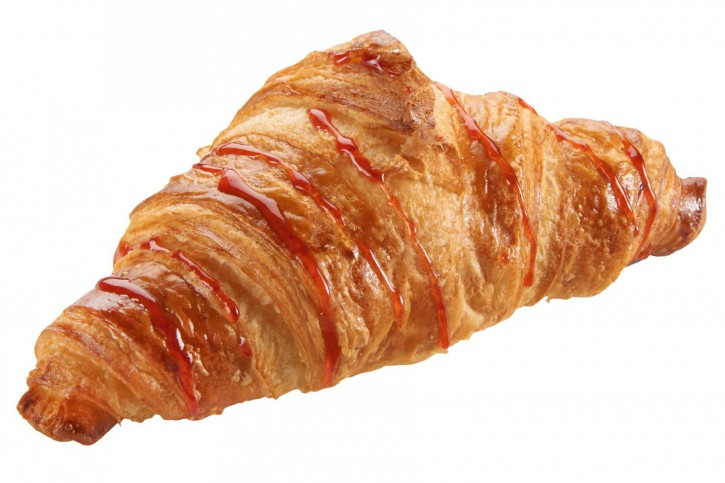Croissant Royal mit Erdbeerfüllung 90 g, 55 St.