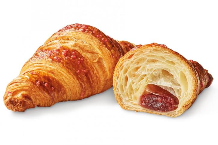 Croissant mit Himbeerfüllung 90g, 44 St.