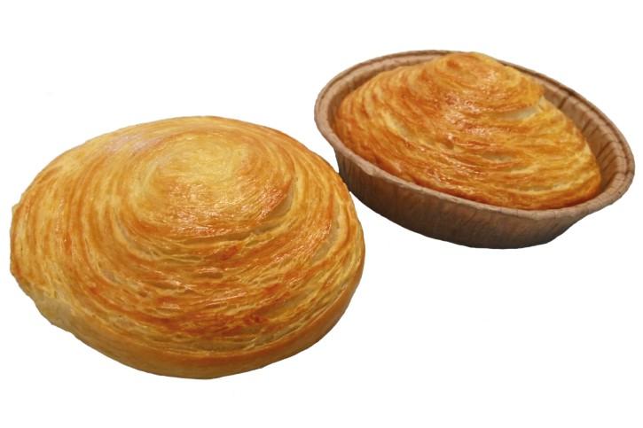 BUN'N'ROLL - Croissant-Schnecke 76g, 2 x 25 St.