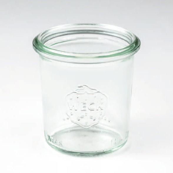 Weckglas (für Nachfüll-Dessert) 140 ml, 12 Stück