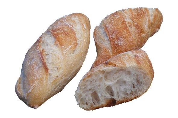 Rustikales Mini-Baguette ca. 60 g, 80 Stück