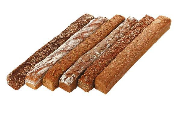 Brot-Symphonie 6 Sorten á 2 Stange, 14 kg