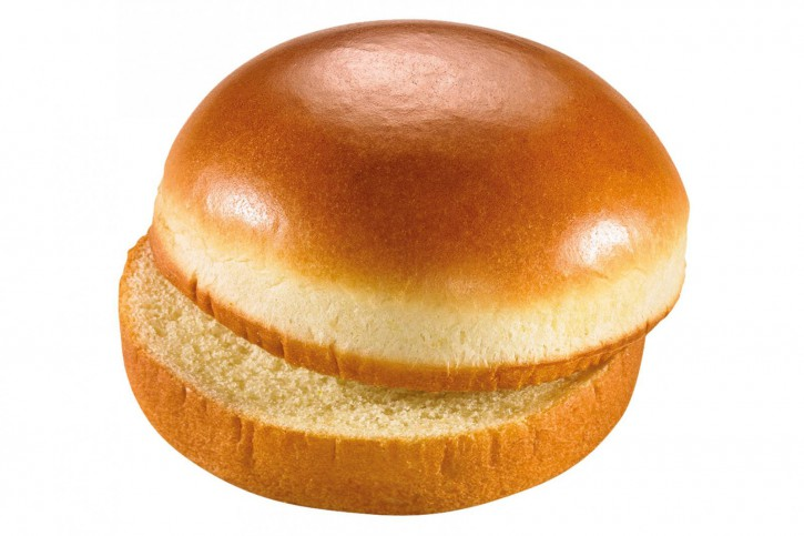 Brioche Burger-Bun / Hamburger Brötchen Brioche Style 85g, 24 St.