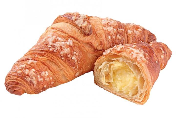 Zitronen-Crème-Croissant - Delifrance 90g, 48 St.