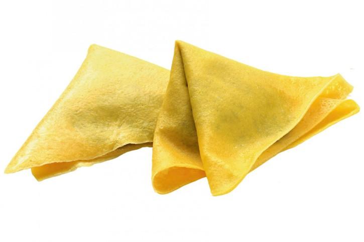 CRÊPES RICOTTA E SPINACI IQF - gefüllt mit Ricotta, Spinat und Käse 3 x 1 kg