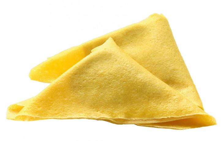 CRÊPES AI FUNGHI PORCINI IQF - gefüllt mit Steinpilze, Ricotta und Käse 3 x 1 kg