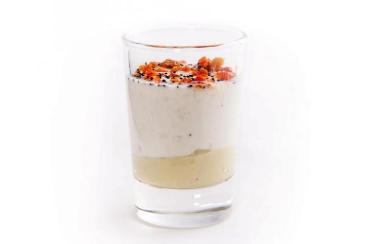 Dessert Tzatziki - Guacamole im Glas 66 ml, 48 Stück